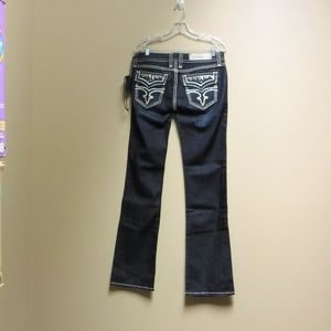 "Women's NWT Rock Revival ""Molly"" Jeans Size 30"